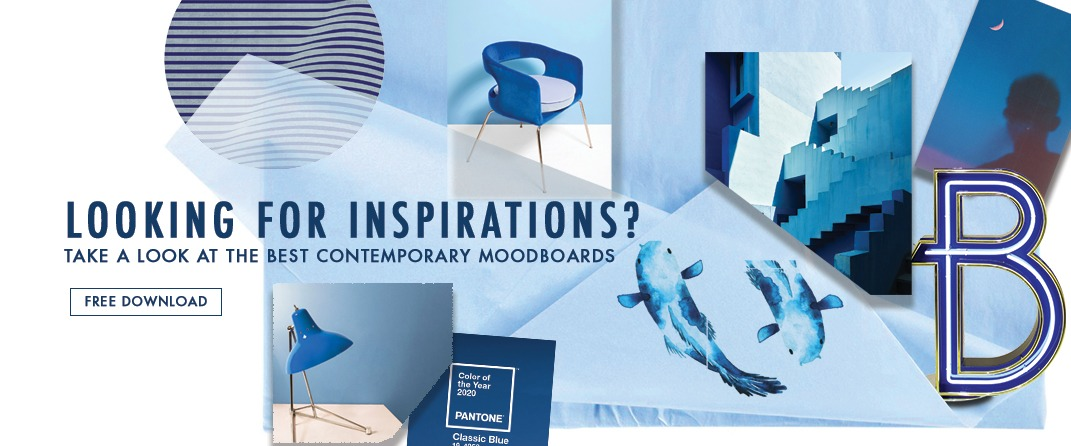 Contemporary Lighting Moodboards