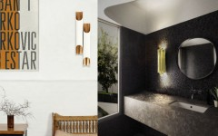 contemporary lighting koket golden sconce feature 5 Golden sconces to achieve a contemporary looking home decor 5 Golden sconces to achieve a contemporary looking home decor contemporary lighting koket golden sconce feature 240x150