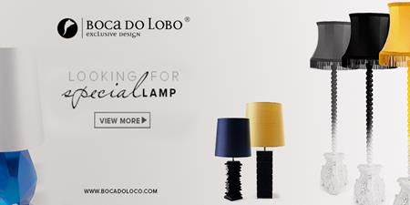 Boca do Lobo lamps lighting
