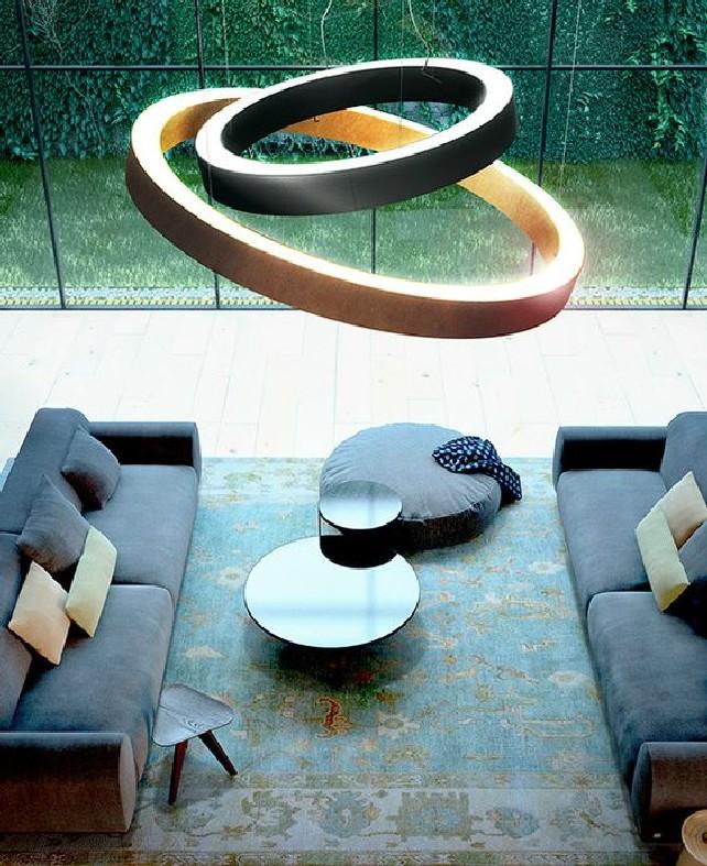 GOLDEN RING by PANZERI design Enzo Panzeri
