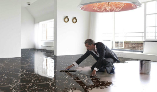 Out of the Box Floor Lamps by Marcel Wanders
