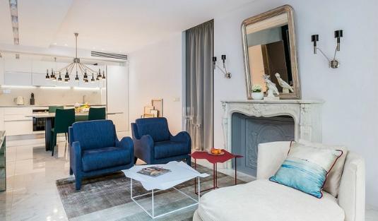 """apartment in paris Meet a """"Belle Nouvelle in a Modern Eclectic Style Apartment in Paris"""" Belle Nouvelle In A Modern And Eclectic Style Apartment In Paris 6"""