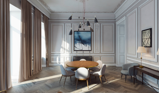 Stylish Soon-to-Be-Ready Apartment in Baku Has the Best Ceiling Lights ceiling lights Stylish Soon-to-Be-Ready Apartment in Baku Has the Best Ceiling Lights Stylish Soon to Be Ready Apartment in Baku Has the Best Ceiling Lights 1 feat
