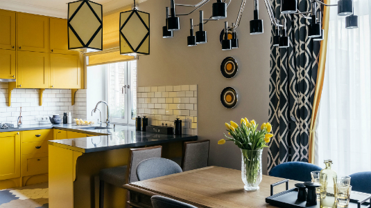 Summer Colors and Contemporary Lighting in a Moscow Flat  Summer Colors and Contemporary Lighting in a Moscow Flat Summer Colors and Contemporary Lighting in a Moscow Flat feat