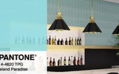 island paradise, home decor ideas, contemporary lighting, lighting design, home design, contemporary home, mood board, pantone colors