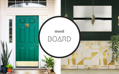 Mood Board- Using Emerald Green to Achieve a Trendy Home Decor