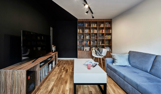 Small Apartment in Poland with Lighting Done Right small apartment Small Apartment in Poland with Lighting Done Right Small Apartment in Poland with Lighting Done Right feat