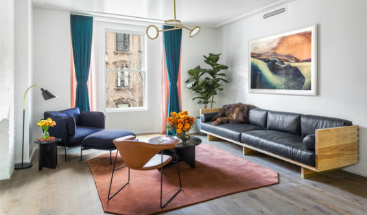 matter A Show Apartment in Brooklyn design by Matter you should know! a