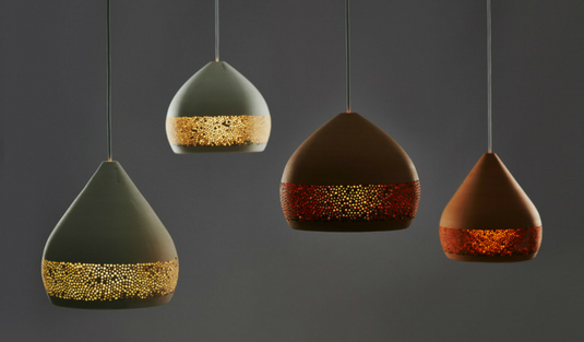 Natural Materials to Create Contemporary Light Fixtures
