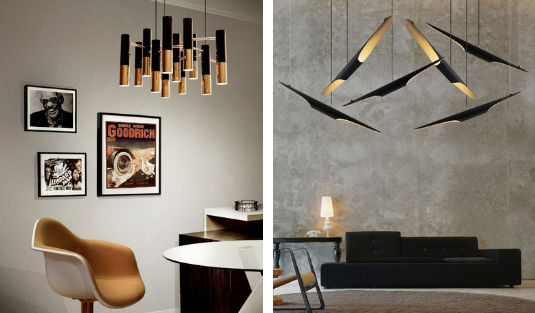 black lighting pieces Trend Of The Week: Black Lighting Pieces! foto capa contemporary