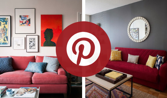 Red Décor Ambiances What is Hot on Pinterest: Red Décor Ambiances To Inspire You! foto capa cl 3
