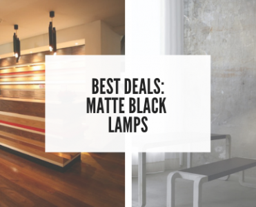 Best Deals: Who said that black was gone? Check These Matte Black Lamps! best deals Best Deals: Who said that black was gone? Check These Matte Black Lamps! foto capa cl  371x300