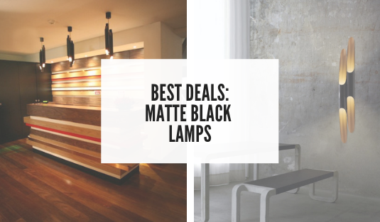 best deals Best Deals: Who said that black was gone? Check These Matte Black Lamps! foto capa cl