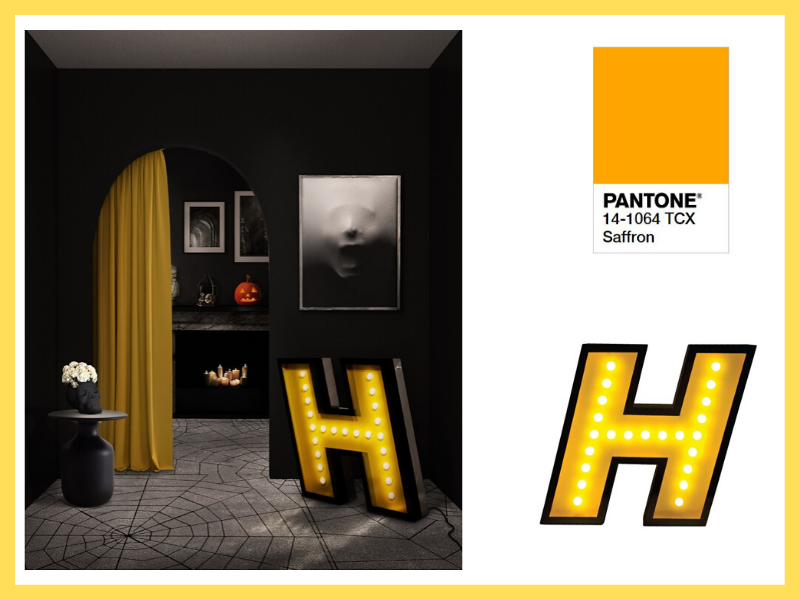 Create The Perfect Halloween Décor Based On Pantone 2020 Color Trends!