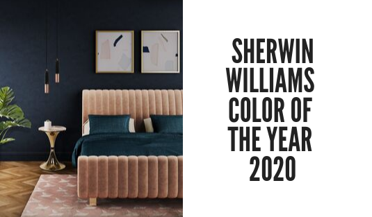 sherwin williams color of the year Naval: The Sherwin Williams Color of The Year 2020! foto capa cl