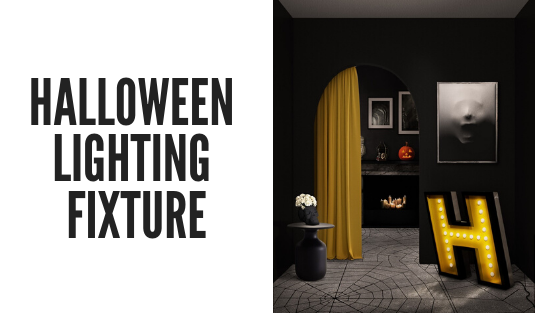 halloween Create The Perfect Halloween Décor Based On Pantone 2020 Color Trends! halloween lighting fixture