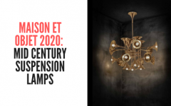 maison et objet Discover The Mid Century Suspension Lamps That Will Enlighten Maison et Objet! Maison et objet  mid century suspension lamps 240x150
