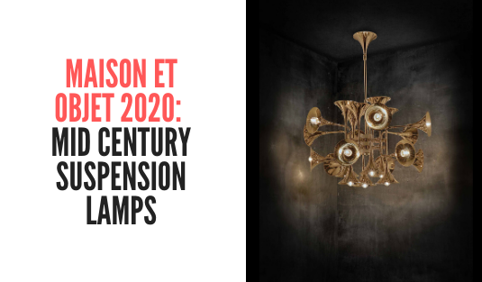 maison et objet Discover The Mid Century Suspension Lamps That Will Enlighten Maison et Objet! Maison et objet  mid century suspension lamps
