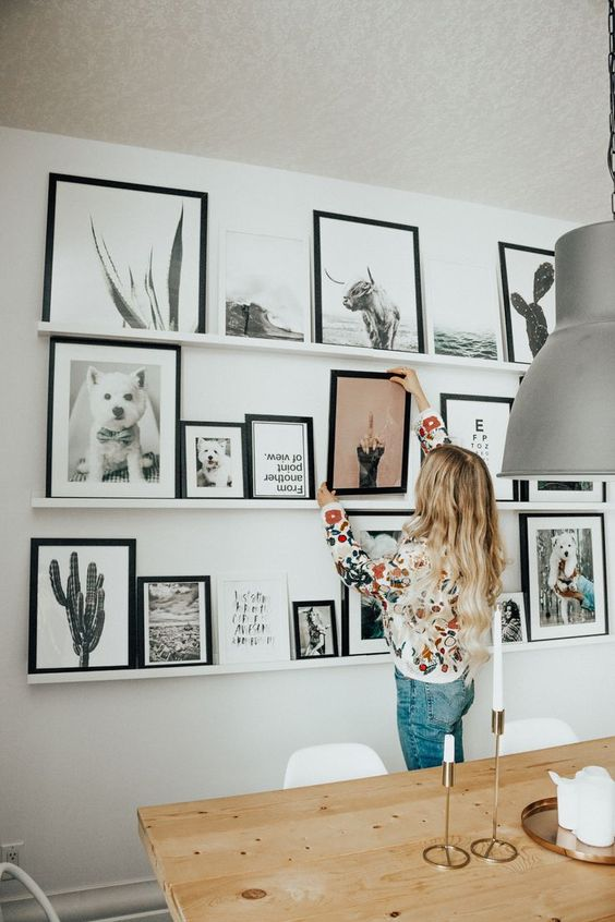 The Instagrammer's Guide To Having The Perfect Gallery Wall! gallery wall The Instagrammer's Guide To Having The Perfect Gallery Wall! 5 5