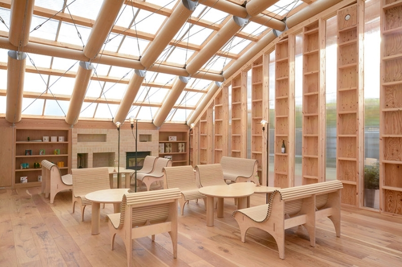 Eco-Friendly Design 🌳 Get To Know This Amazing Paper Green House in Japan, By Shigeru Ban! shigeru ban Eco-Friendly Design 🌳 Get To Know This Amazing Paper Green House in Japan, By Shigeru Ban! 2 16