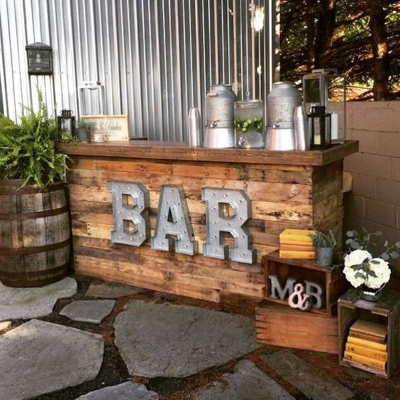 6 Stylish Outdoor Bars We've Seen On Pinterest - Your Next DIY Home Project! 🛠️ outdoor bars 6 Stylish Outdoor Bars We've Seen On Pinterest – Your Next DIY Home Project! 🛠️ 4 11