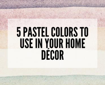 5 Pastel colors to use in your home décor 0 pastel colors Check Out How You Can Play With Pastel Colors in Your Home Décor! 5 Pastel colors to use in your home d  cor 0 371x300