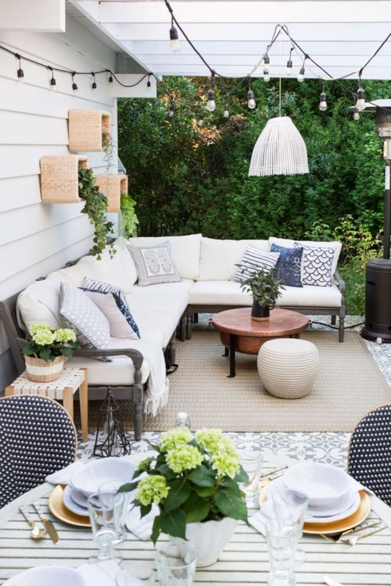 10 Patio Ideas For An Endless Summer Feeling 🌱 patio ideas 10 Patio Ideas For An Endless Summer Feeling 🌱 4 7