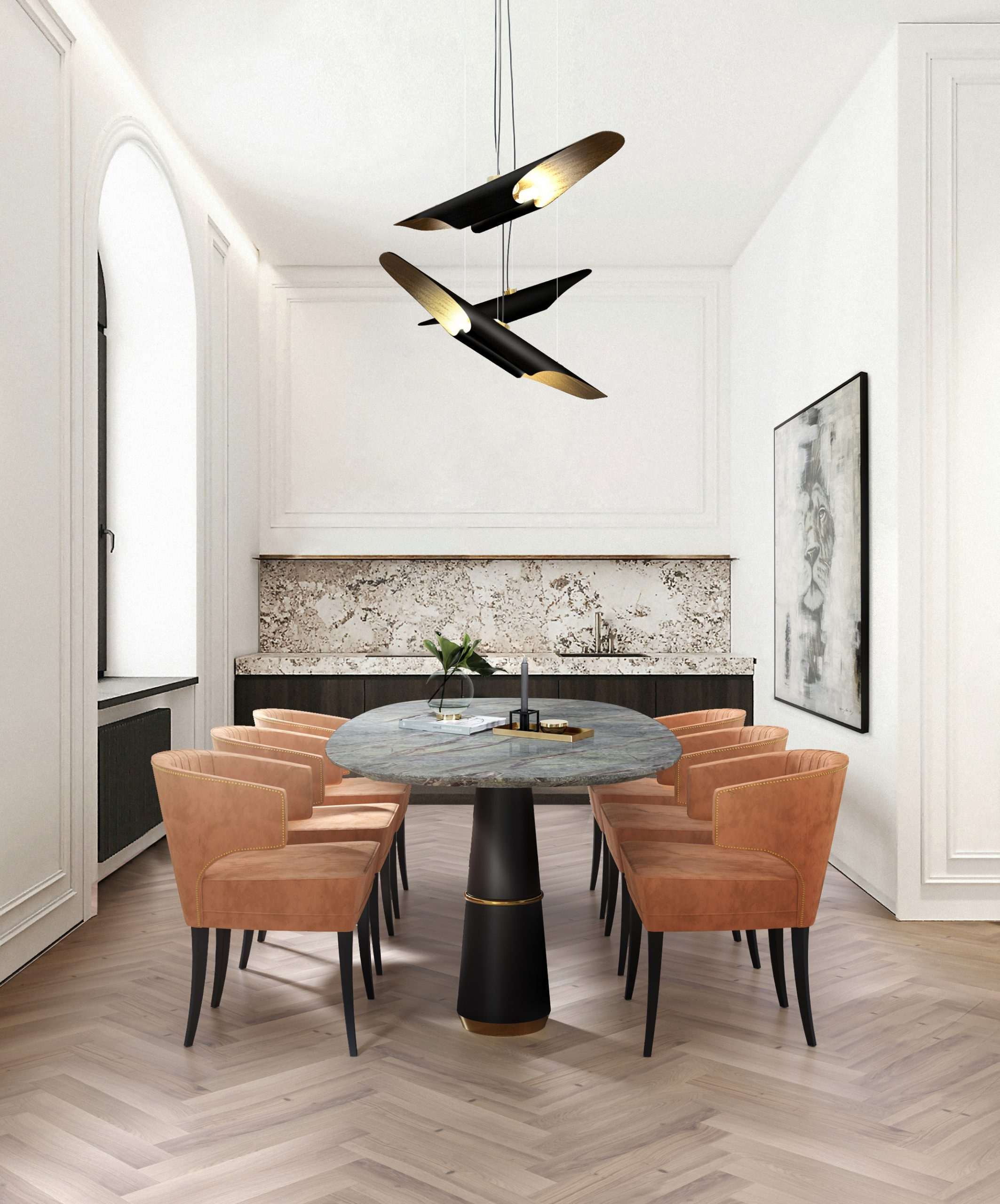 Let These Suspension Lamps be the Spotlight of Your Dining Table! suspension lamps Let These Suspension Lamps be the Spotlight of Your Dining Table! 1 7 scaled