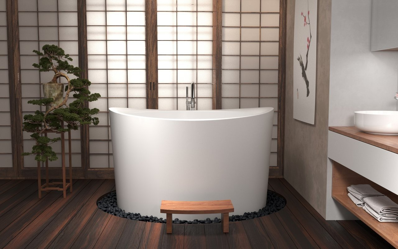 It's Relaxing Time 🛀 Light a few Candles and have a Nice Bath in these Japanese Tubs!