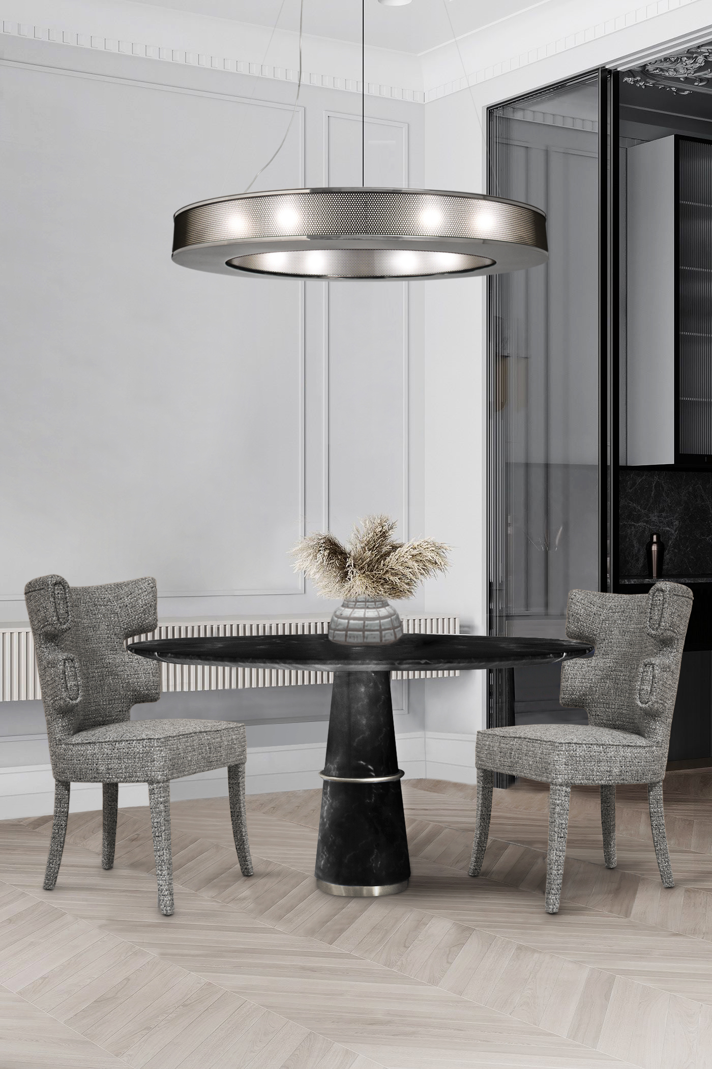 Let These Suspension Lamps be the Spotlight of Your Dining Table! suspension lamps Let These Suspension Lamps be the Spotlight of Your Dining Table! 4 6