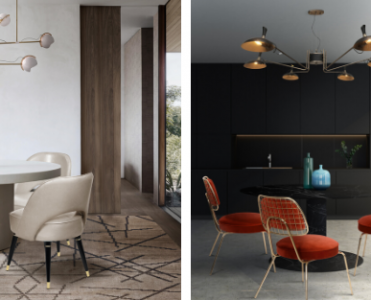 7 Dining Rooms That Make The Most Out of Limited Space Due to the Lighting Fixture! dining rooms 7 Dining Rooms That Make The Most Out of Limited Space Due to the Lighting Fixture! foto capa c 371x300
