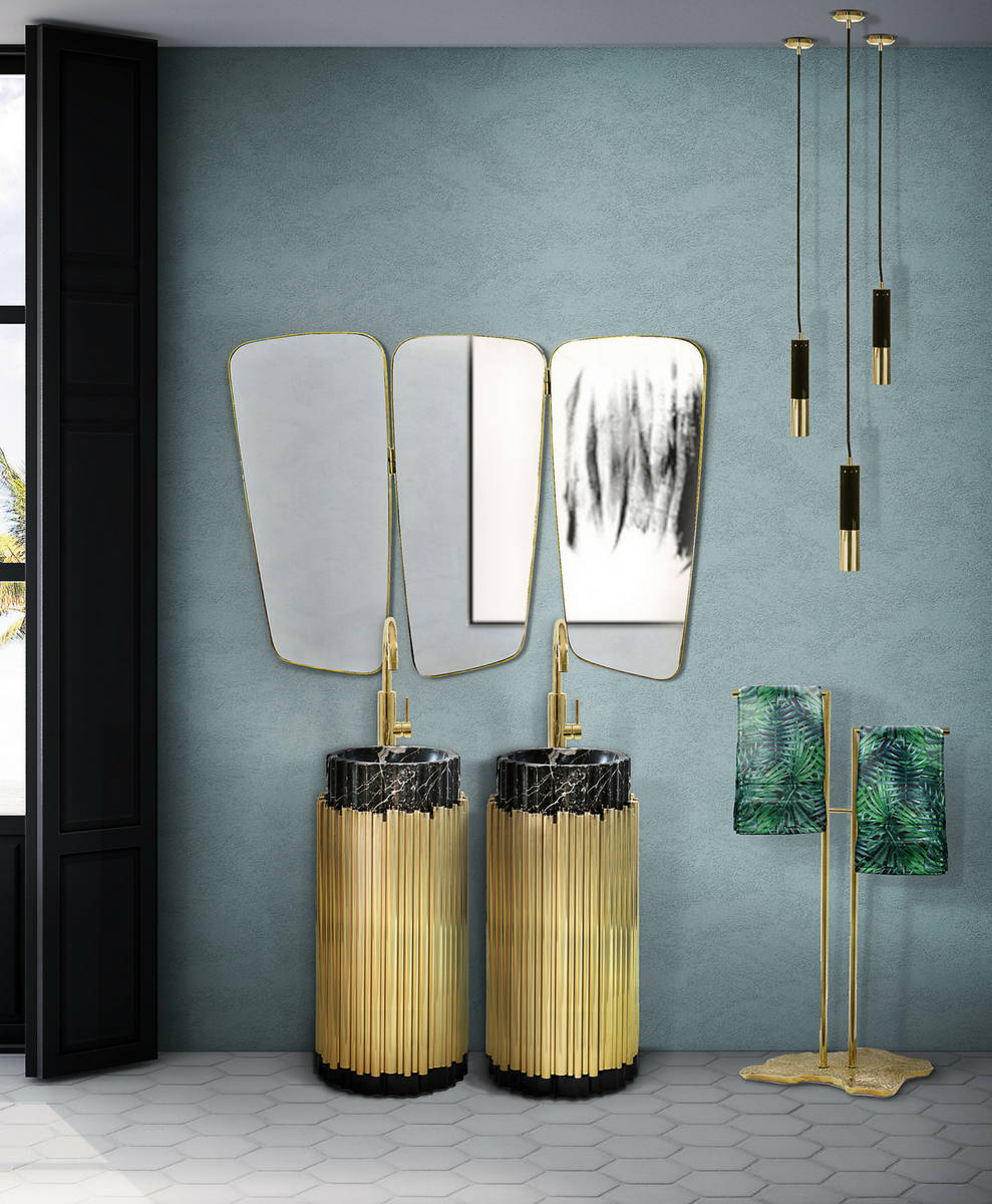 7 Functional Bathroom Lighting Pieces that Double as Décor! bathroom lighting piece 7 Functional Bathroom Lighting Pieces that Double as Décor! 5