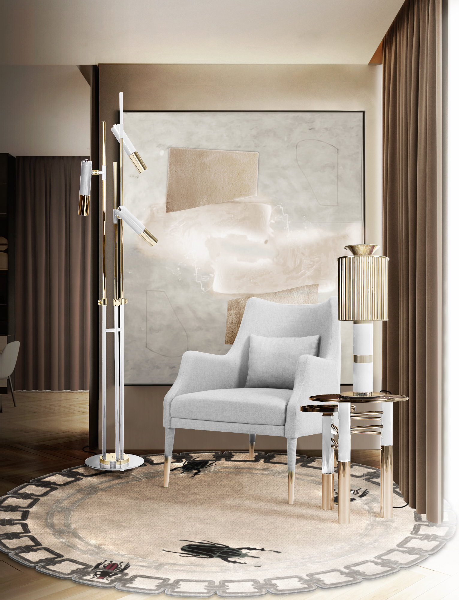Check Out These 5 Lighting Design Trends for 2020 Before Heading to the Showroom! lighting design trends Check Out These 5 Fall Lighting Design Trends for 2020 Before Heading to the Showroom! DL amb ike branco donna