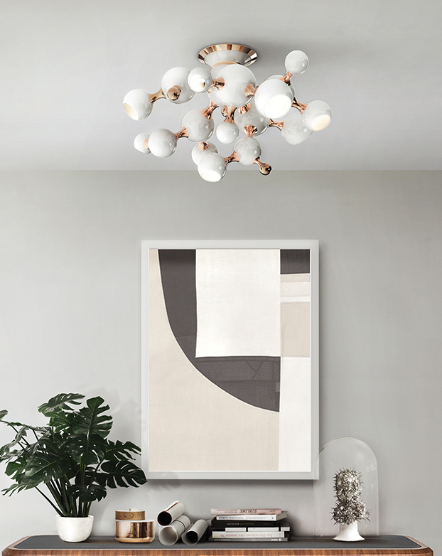 Ceiling Light Fixtures That'll Elevate All Your Dinner Parties ceiling light Ceiling Light Fixtures That'll Elevate All Your Dinner Parties 1 5