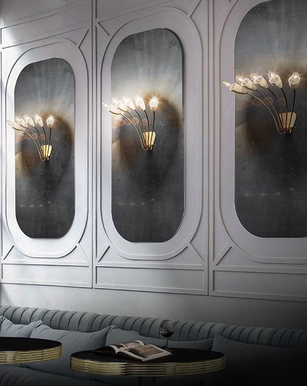 These Modern Wall Lamps Will Illuminate Your Space in Style wall lamps These Modern Wall Lamps Will Illuminate Your Space in Style 2 7