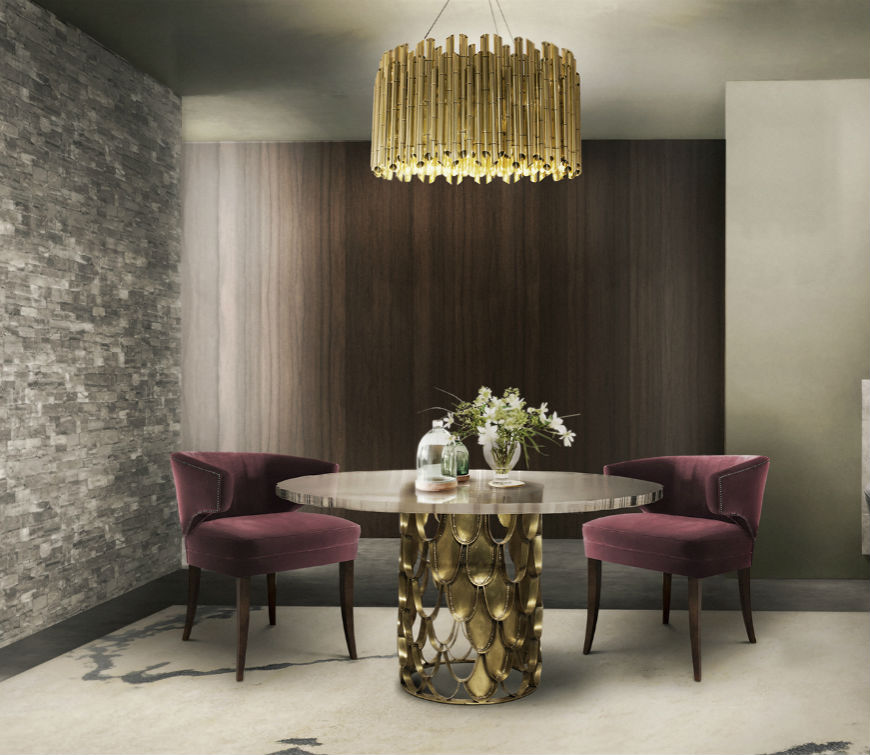 These Modern Chandeliers Really Shine (Even When the Switch Is Off) chandeliers These Modern Chandeliers Really Shine (Even When the Switch Is Off) Astonishing dining room ideas by Brabbu To Try This Summer 2