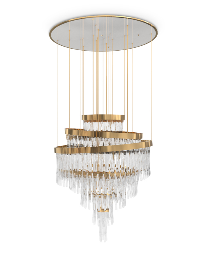 These Modern Chandeliers Really Shine (Even When the Switch Is Off) chandeliers These Modern Chandeliers Really Shine (Even When the Switch Is Off) babel