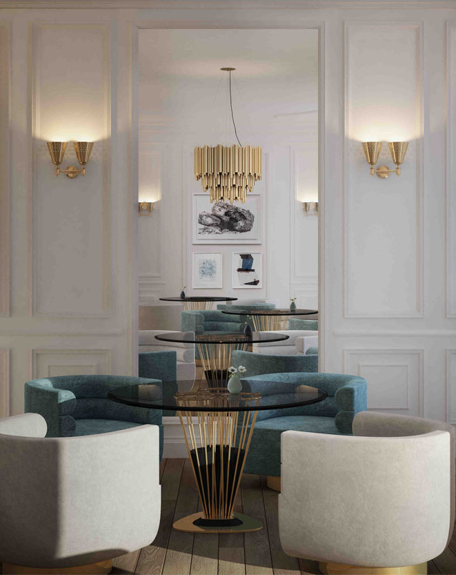 These Modern Chandeliers Really Shine (Even When the Switch Is Off) chandeliers These Modern Chandeliers Really Shine (Even When the Switch Is Off) brubeck chandelier