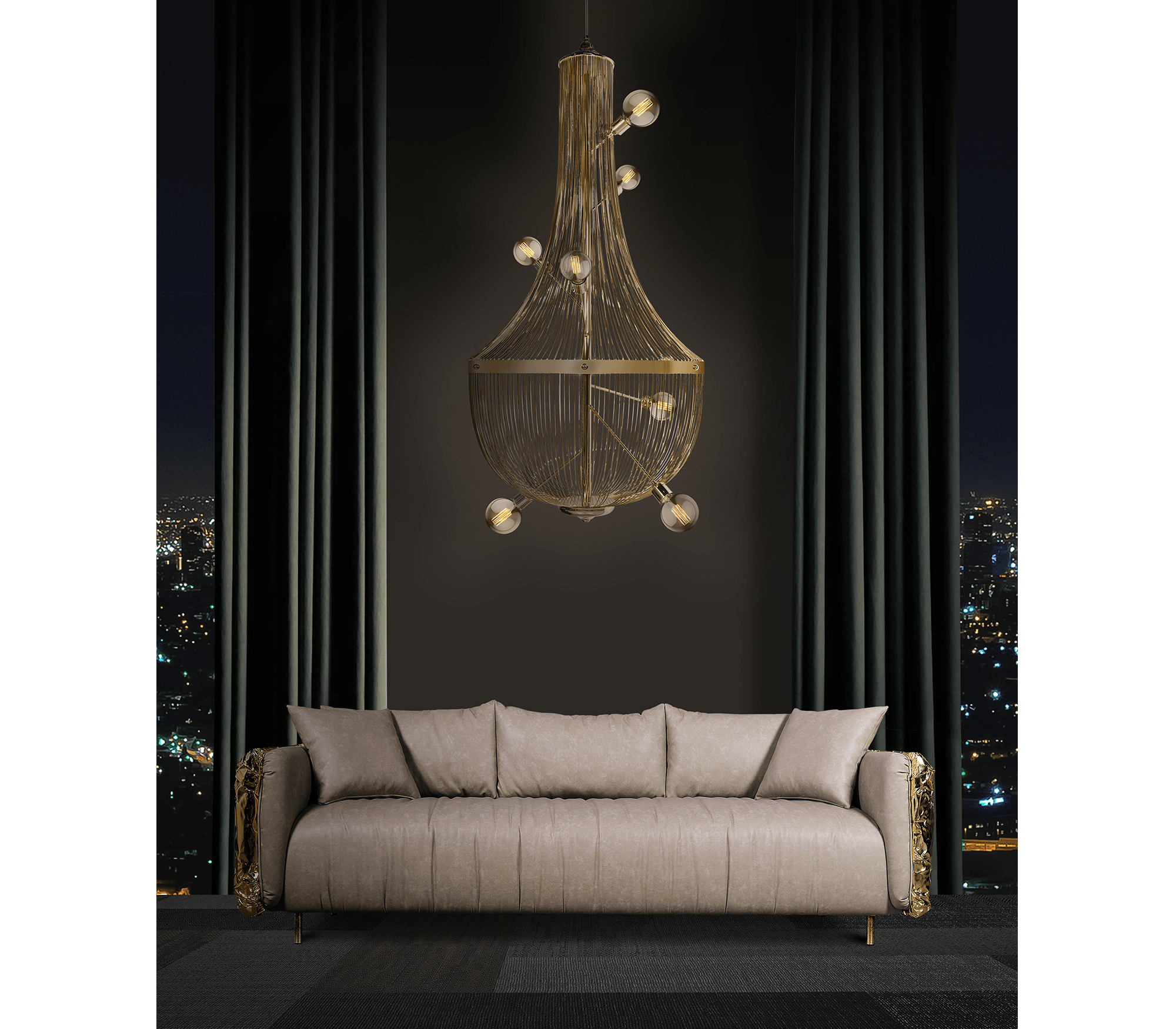 These Modern Chandeliers Really Shine (Even When the Switch Is Off) chandeliers These Modern Chandeliers Really Shine (Even When the Switch Is Off) lchandelier suspension lamp 03 zoom boca do lobo