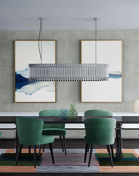 These Modern Chandeliers Really Shine (Even When the Switch Is Off) chandeliers These Modern Chandeliers Really Shine (Even When the Switch Is Off) matheny rectangular