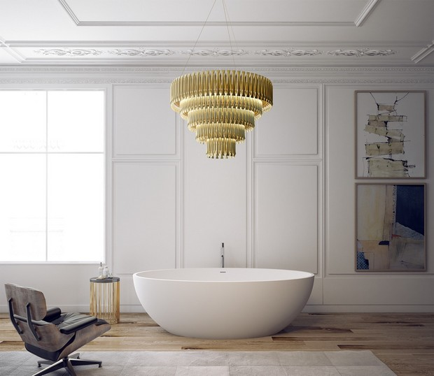 How These Lighting Pieces Added Warmth to a Cold, Unwelcoming Bathroom lighting How These Lighting Pieces Added Warmth to a Cold, Unwelcoming Bathroom matheny