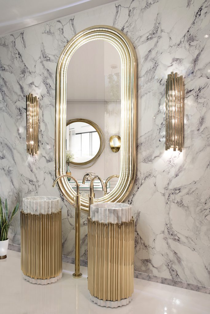 How These Lighting Pieces Added Warmth to a Cold, Unwelcoming Bathroom lighting pieces How These Lighting Pieces Added Warmth to a Cold, Unwelcoming Bathroom 11 5