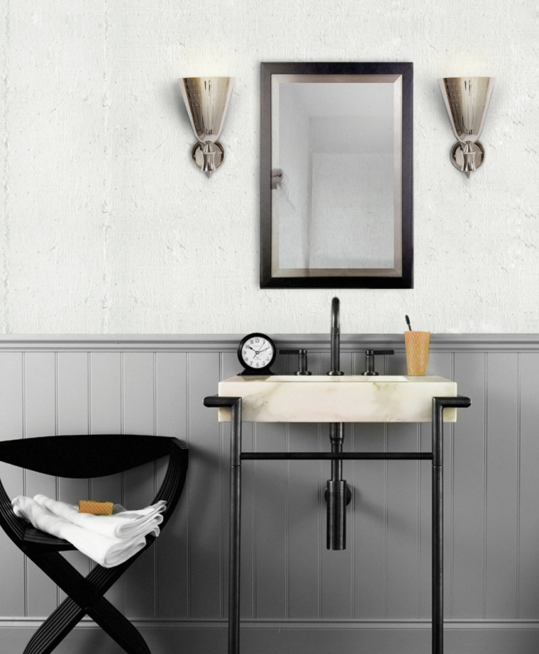 How These Lighting Pieces Added Warmth to a Cold, Unwelcoming Bathroom lighting pieces How These Lighting Pieces Added Warmth to a Cold, Unwelcoming Bathroom 4