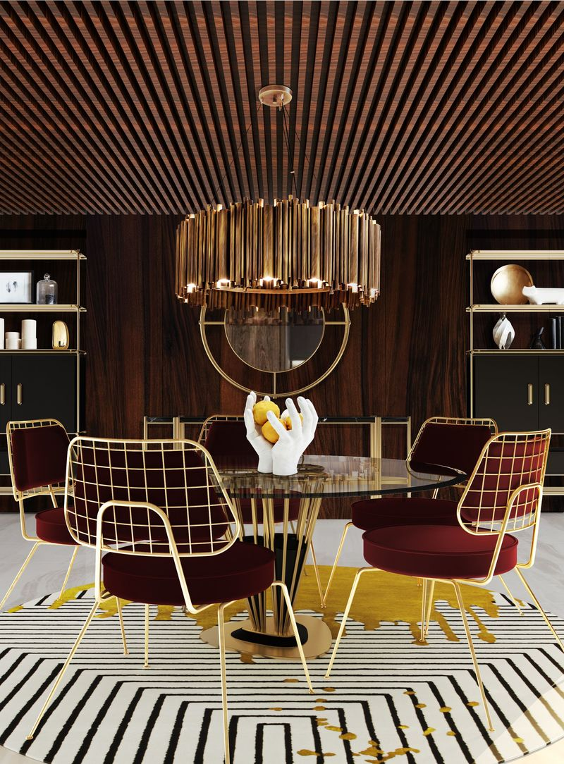Suspension Light Fixtures That'll Elevate All Your Dinner Parties suspension light Suspension Light Fixtures That'll Elevate All Your Dinner Parties 5 3